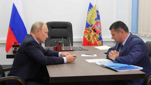 """""""Все, думаю, будет в порядке"""", - сказал Путин Андрею Тарасенко, встречаясь с ним на прошлой неделе"""