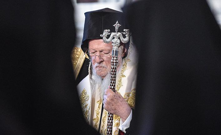 Патриарх константинопольской патриархии Варфоломе