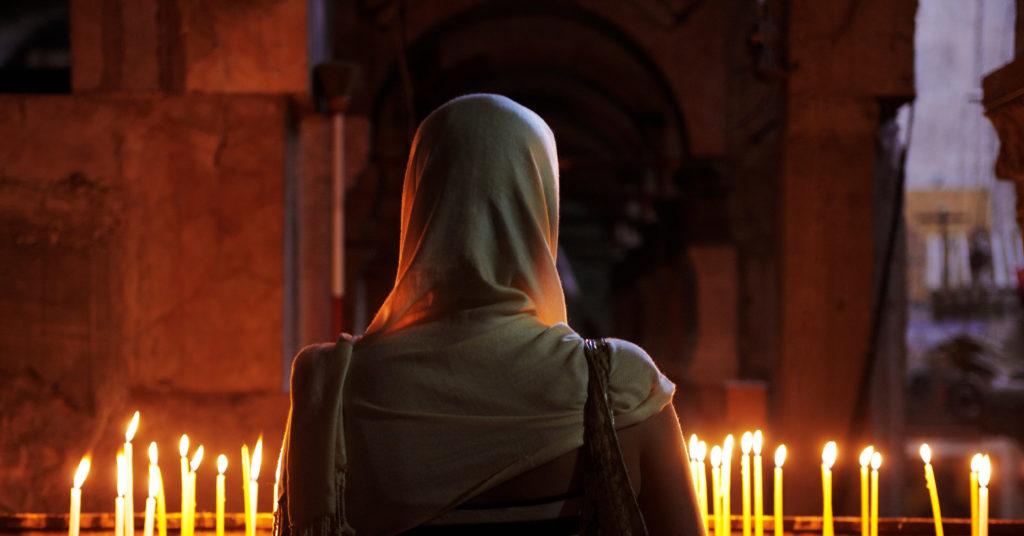 Церковь молитва