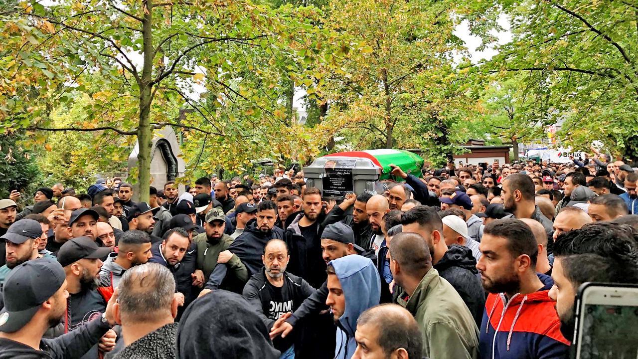 Похороны арабского криминального авторитета в Германии