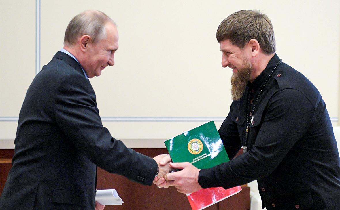 Путин подарил Чечне нефтяную компанию