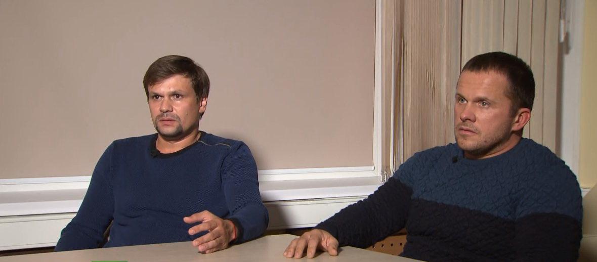 Подозреваемые в покушении на Скрипаля Петров и Боширов озвучили свою версию