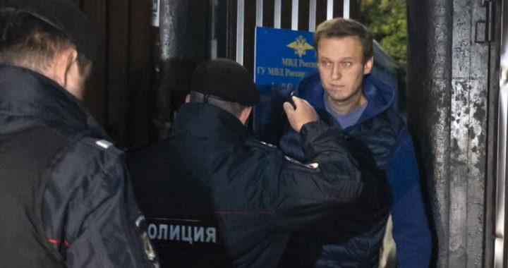 Задержан Алексей Навальный