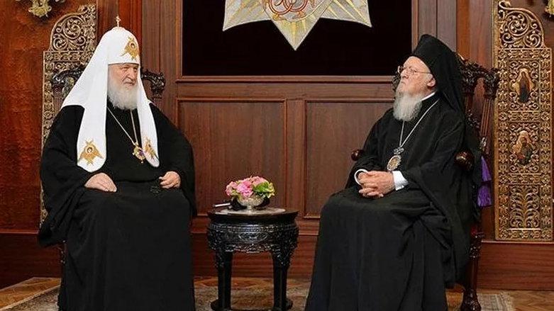 Патриарх Кирилл и Варфоломей