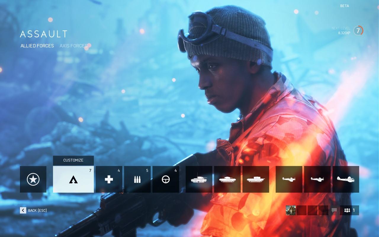 Battlefield V Open Beta