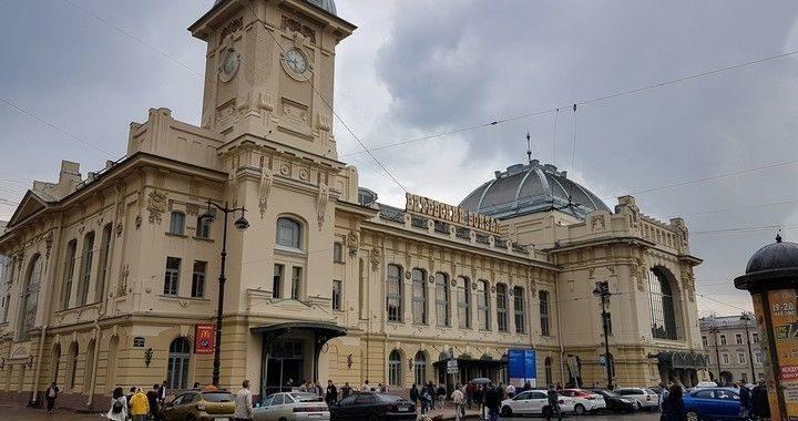 Витебский вокзал после реставрации