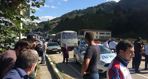 Кабардинцы столкнулись с балкарцами в Кабардино-Балкарии