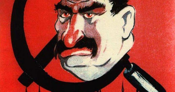 Карикатура на Сталина