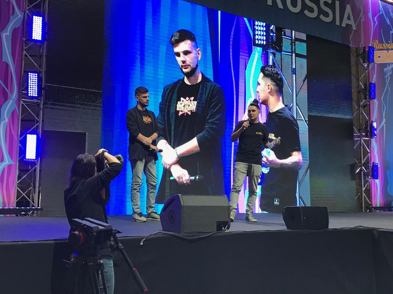 КИБЕРСЛАВ на Comic Con Russia 2018