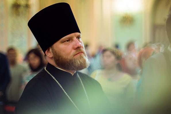 Руководитель пресс-службы Патриарха Московского и Всея Руси Александр Волков