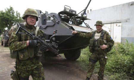Эстонские солдаты в ЦАР