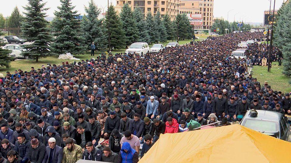Митинги в Ингушетии