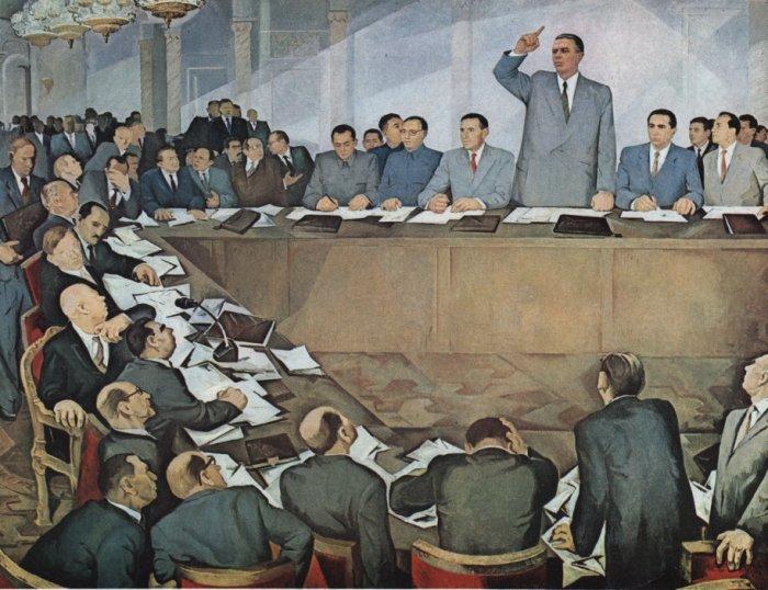 Албанская картина: Энвер Ходжа обличает советских ревизионистов