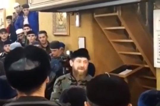 Кадыров в Ингушетии