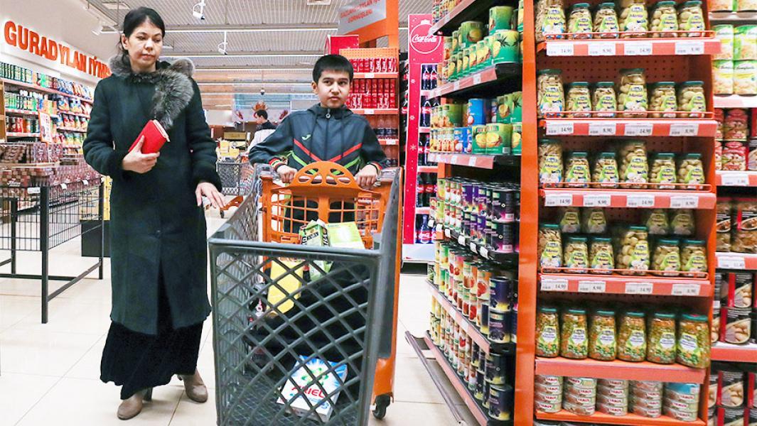 В Туркмении возник дефицит продуктов