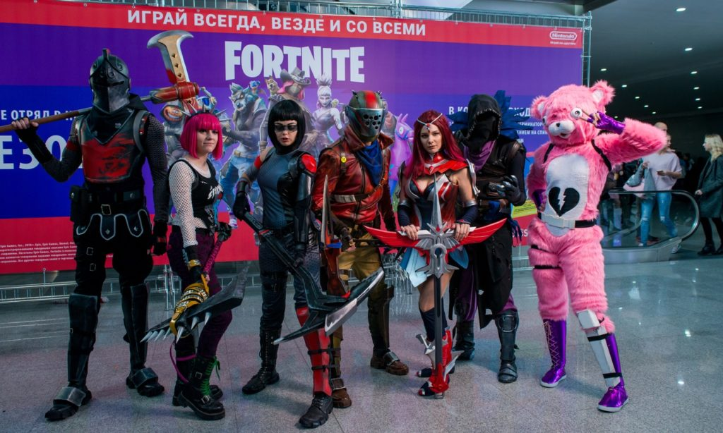 Игромир 2018 косплеи