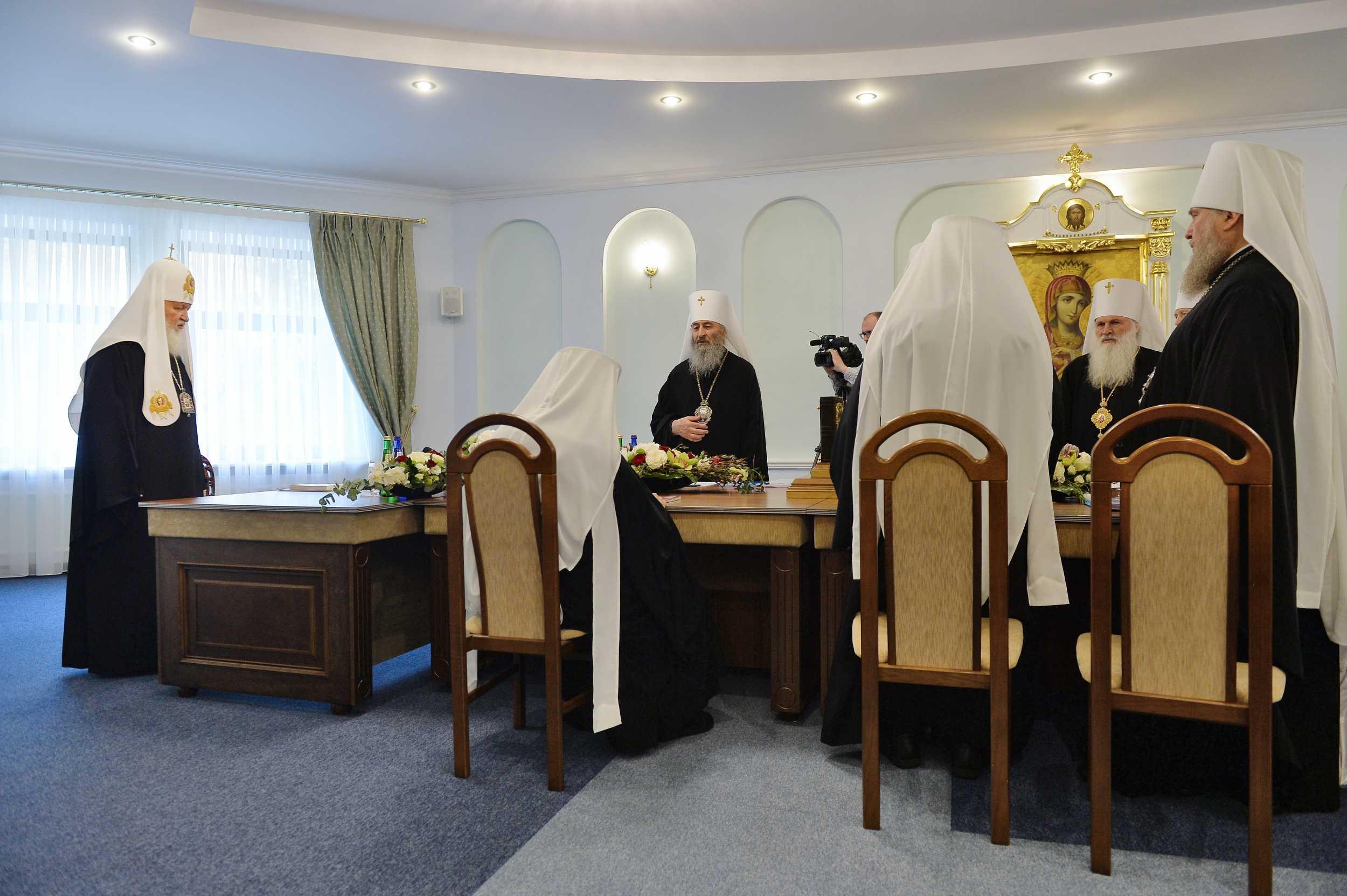 Священный синод РПЦ в Минске 2018 год