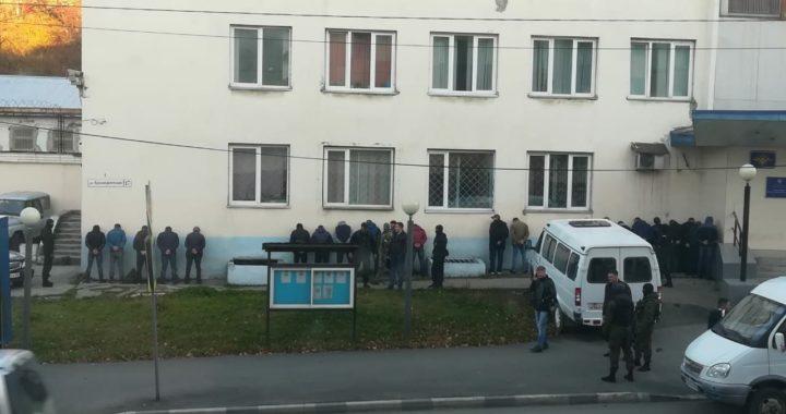 Сахалин. Задержание мигрантов