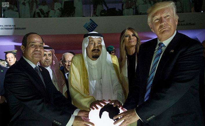 Саудовская Аравия Трамп