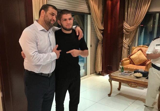 Хабиб Нурмагомедов и Сагид Муртазалиев