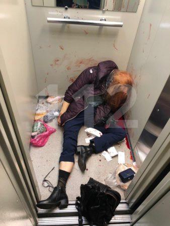 Убийство женщины в лифте