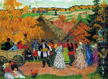 Деревенский праздник, 1914 год. Латвийский Национальный художественный музей, Рига, Латвия