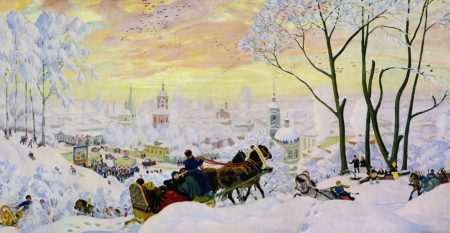 Масленица, 1916 год. Государственный Русский музей, Санкт-Петербург.
