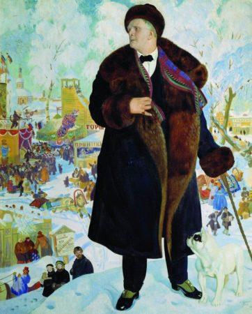 Портрет Ф. И. Шаляпина. 1922 год. Государственный Русский музей, Санкт-Петербург