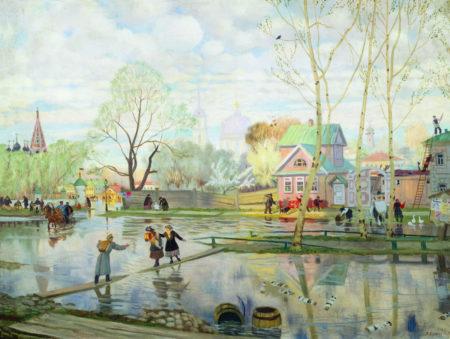 Весна, 1921 год. Частная коллекция