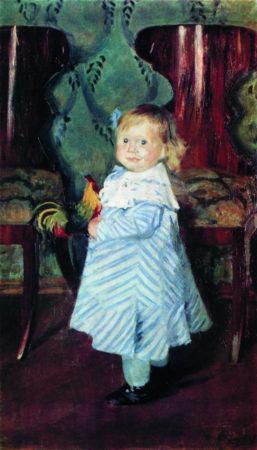 Портрет И.Б. Кустодиевой 1906 год. Национальный художественный музей Республики Беларуссия, Минск