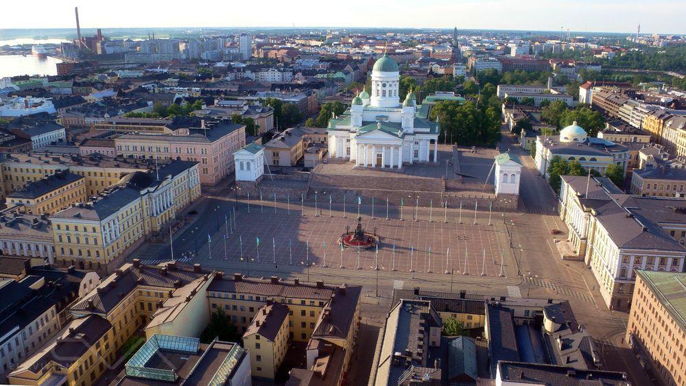 Сенатская площадь Хельсинки, Финляндия