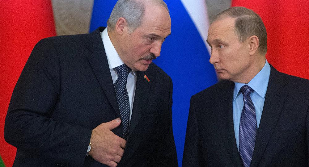 Путин Лукашенко ЕАЭС