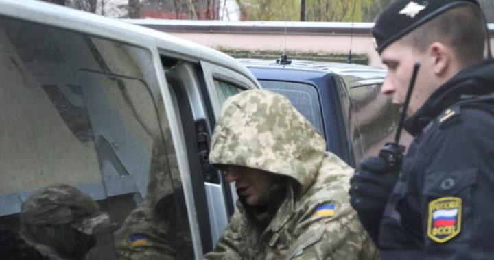 Арестованный украинский моряк