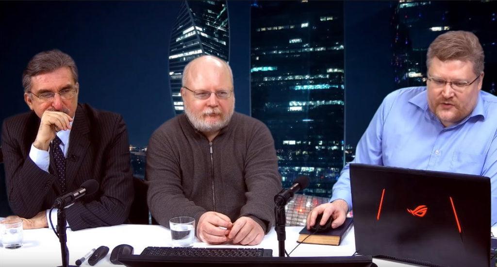 Сергей Задумов и Константин Крылов