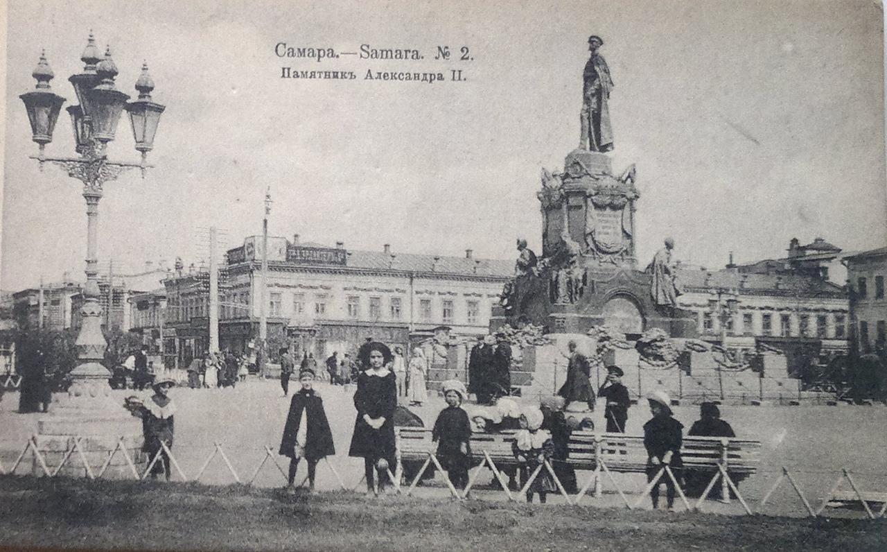 Петиция в поддержку восстановления памятника Александру II Освободителю