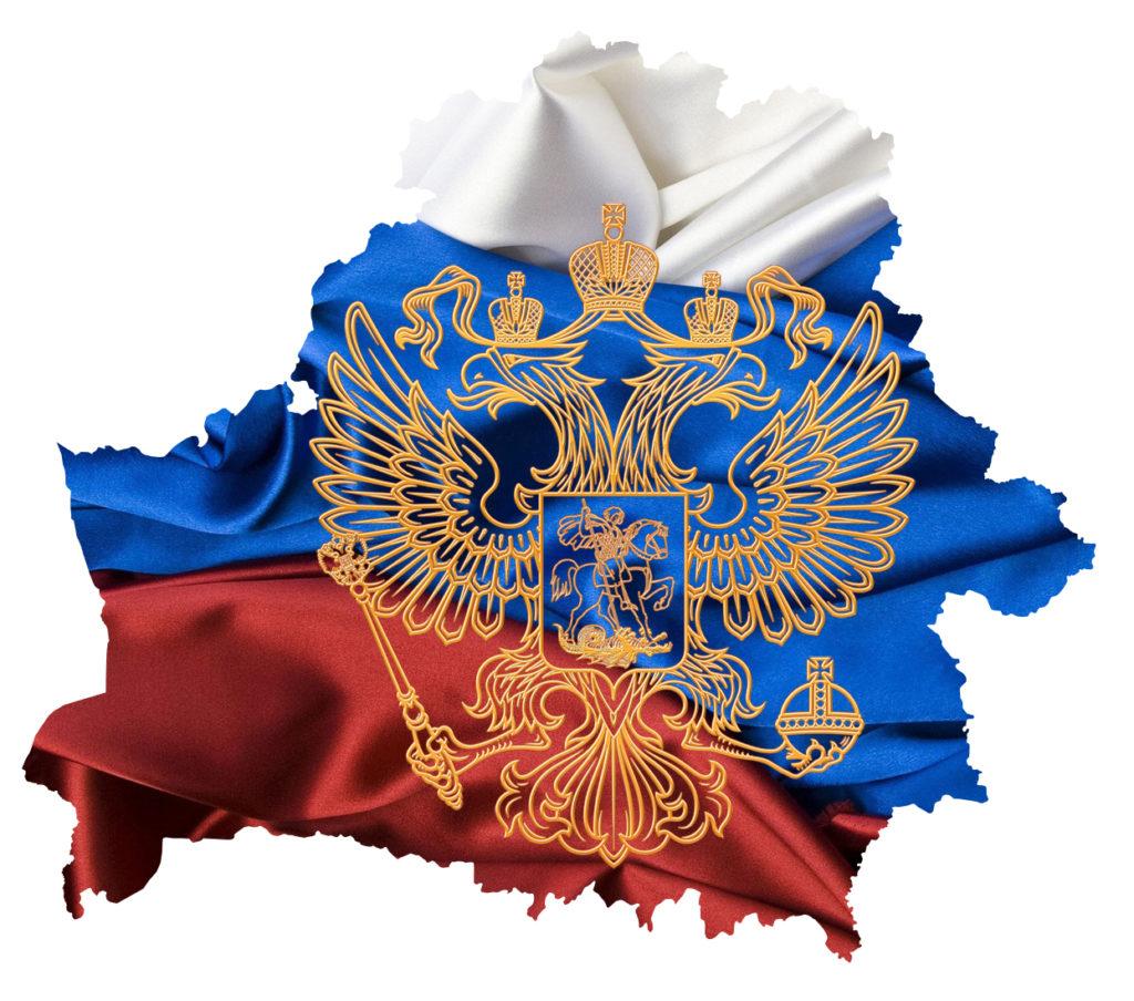 Карта Россия-Белоруссии