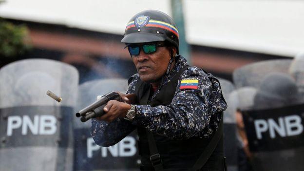 Венесуэла полицейский