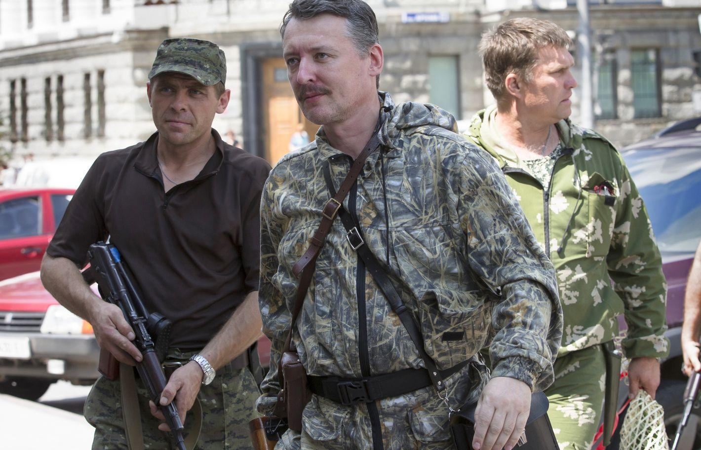 Стрелков в Славянске