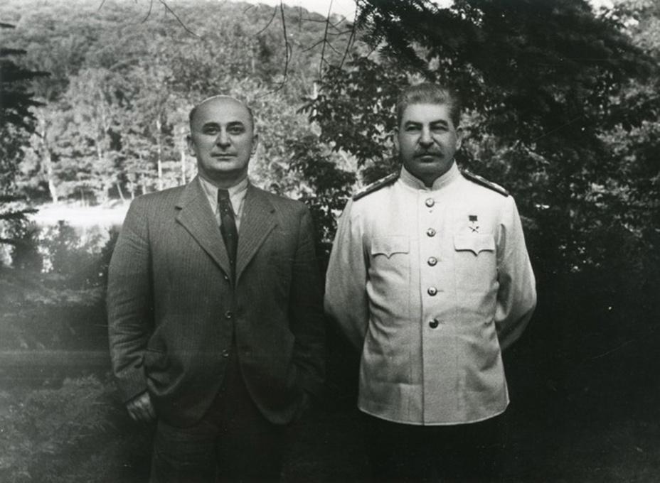 Джугашвили и Берия