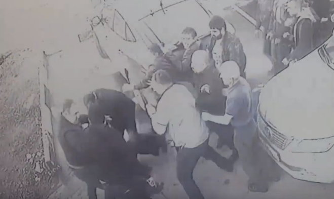 Массовая драка между армянкой и дагестанской бандами в подмосковном городе Чехов