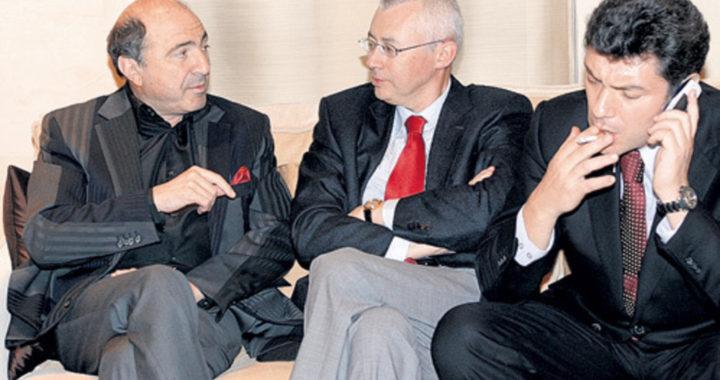 Борис Березовский, Игорь Малашенко и Борис Немцов