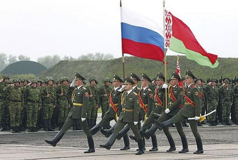 Белорусская и российская армия