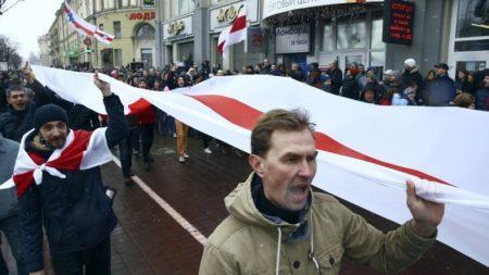 Прозападная оппозиция в Белоруссии