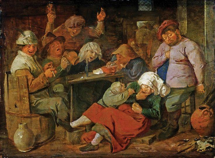 Пьющие крестьяне - Брауэр Адриан