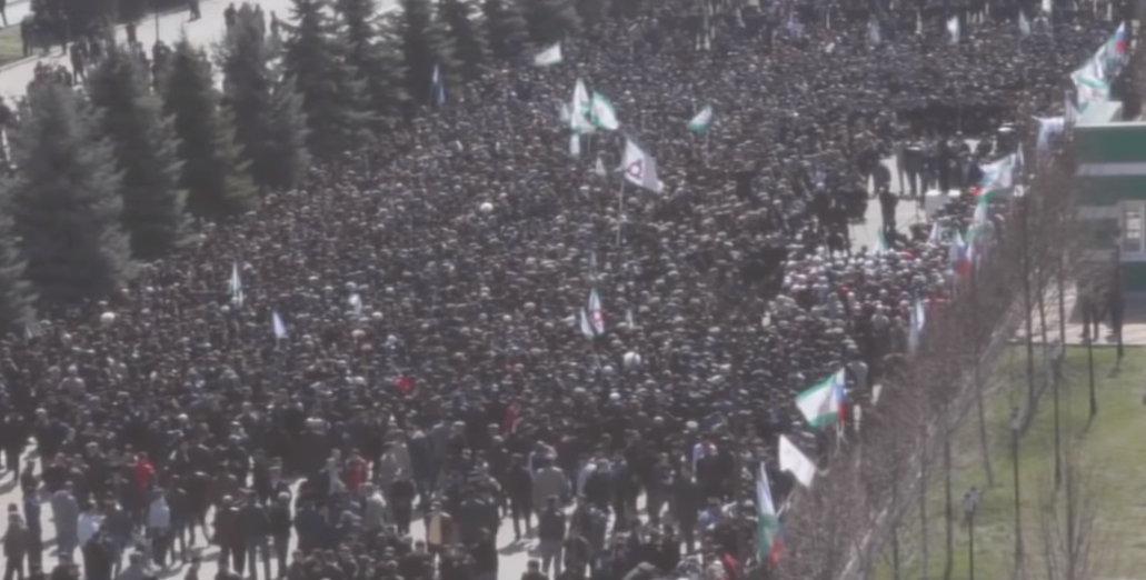 Протесты в Ингушетии