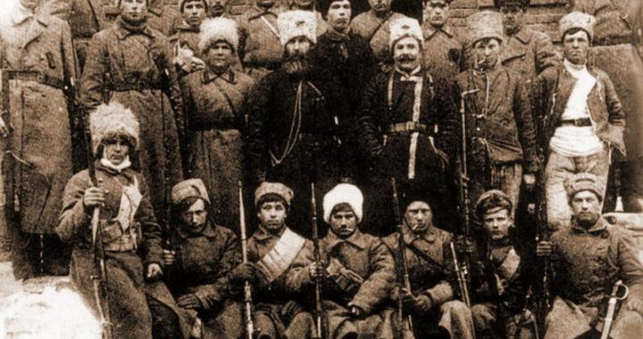 Участники партизанской армии Тамбовской губернии