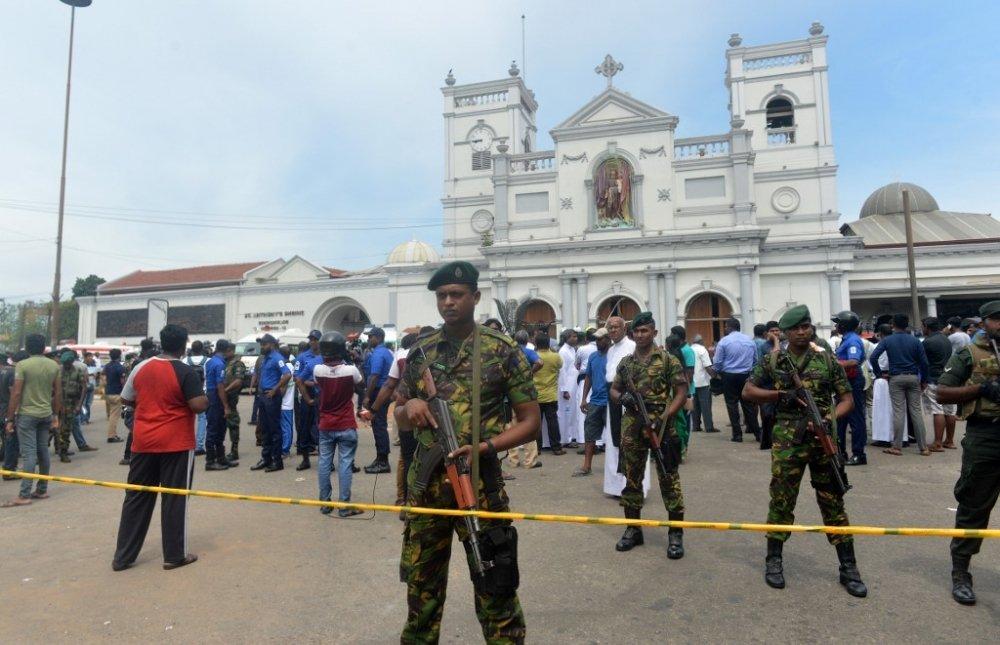 Атака исламистов на Шри-Ланку