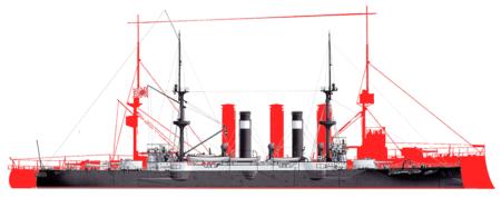 Сравнение кораблей Асама и Кент