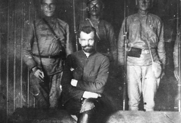 Полковник Перхуров на суде